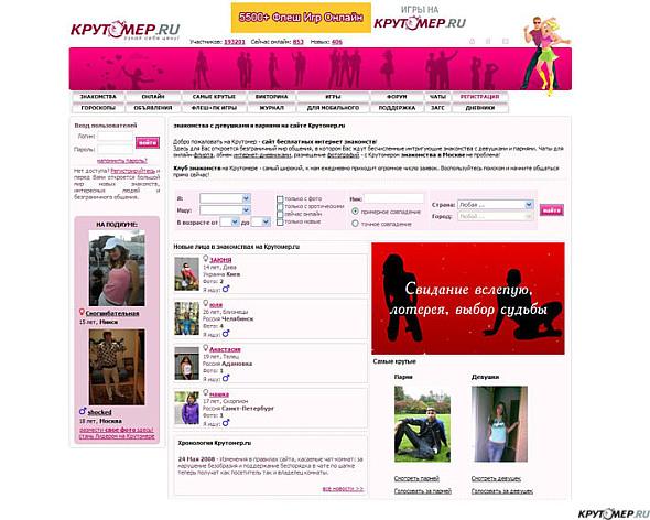 Круто мир знакомств сайт