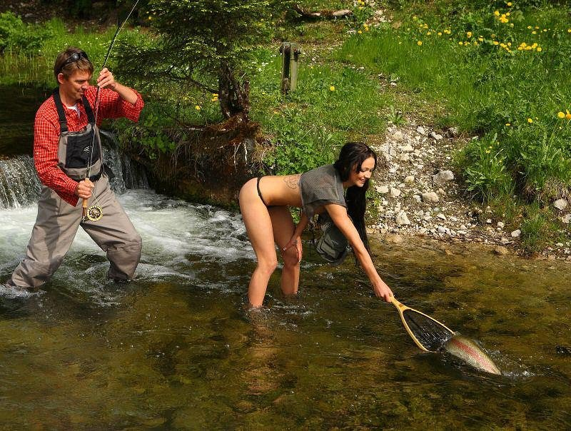 Видео рыбалка секс, секс и жиноча маструбация