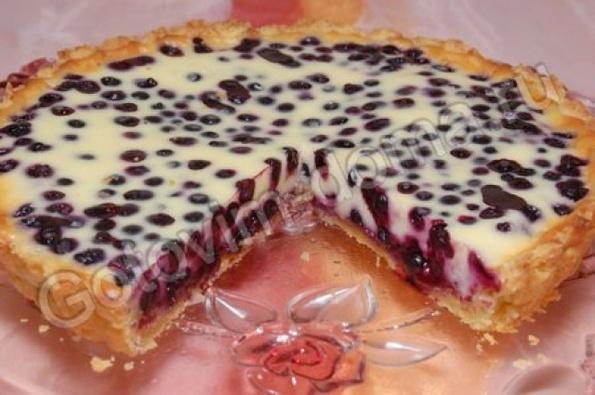 Пирог с пасленом рецепты с фото