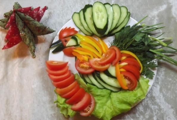 Недорогие салаты из овощей фото