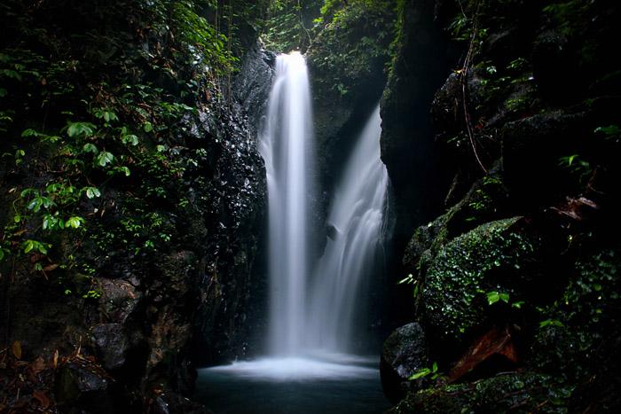 длинная выдержка 3 секунды, водопад