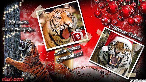 Поздравление в год тигра 9