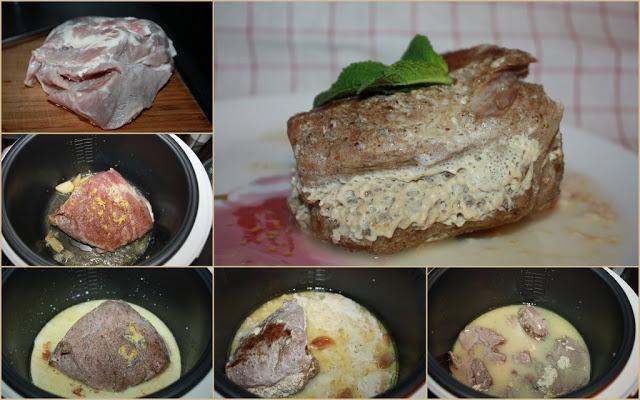Свинина мультиварке пошаговый рецепт фото