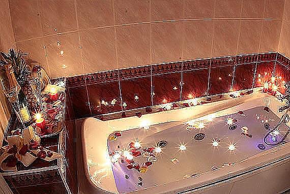 Как сделать ванну для любимой