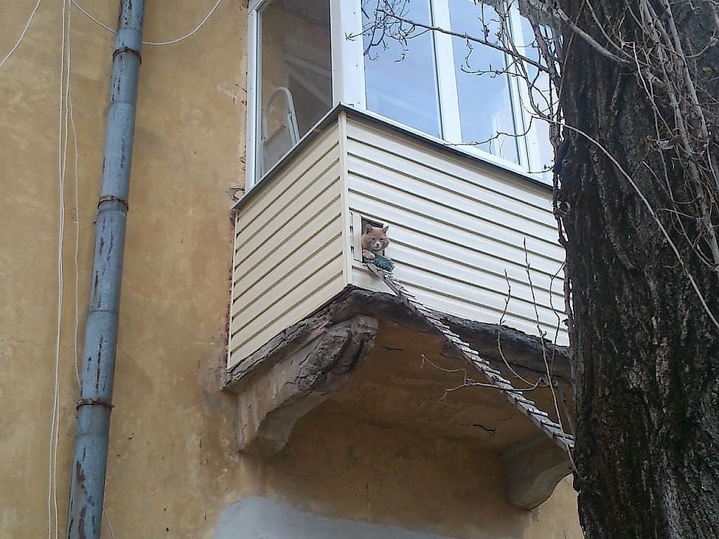 Самые необычные балконы россии - разговоры обо всем. отношен.