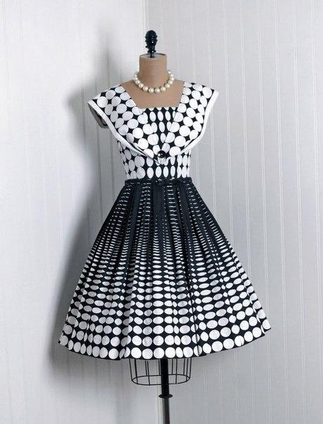 Ретро платья 50-е