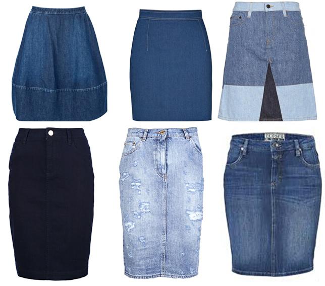 Как сшить юбку годе из джинс 535