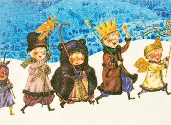 Щедривки в старый новый год на русском языке