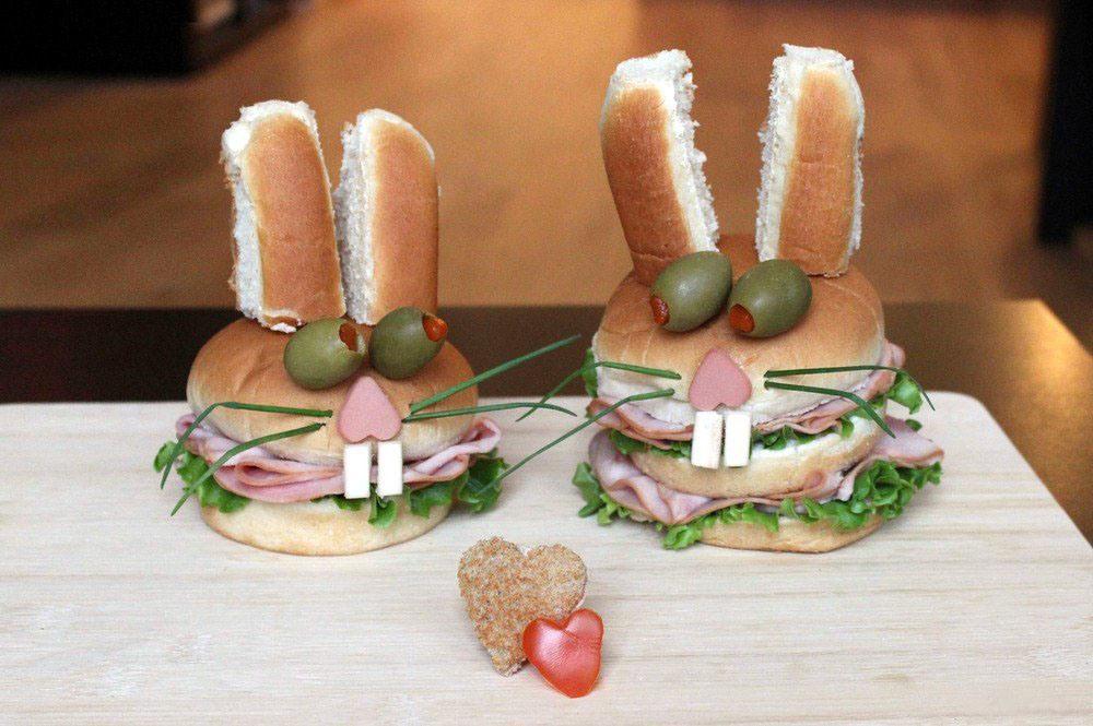 Делаем своими руками бутерброды 6