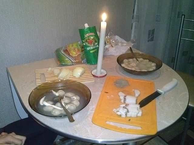 Как сделать романтический ужин для любимой в домашних условиях фото