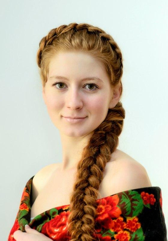 Плетение славянской косы