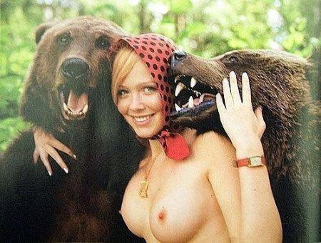 Фото маша и медведь порно фото