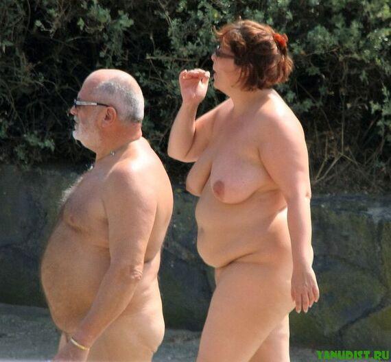 Фото нудистки ретро жирние