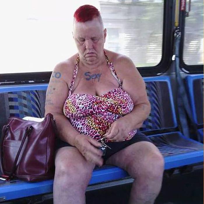 фото толстых бабушек