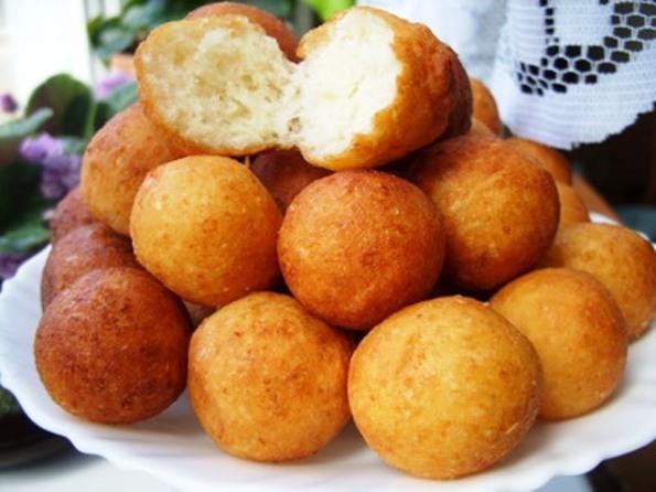 Пончики шарики из творога рецепт