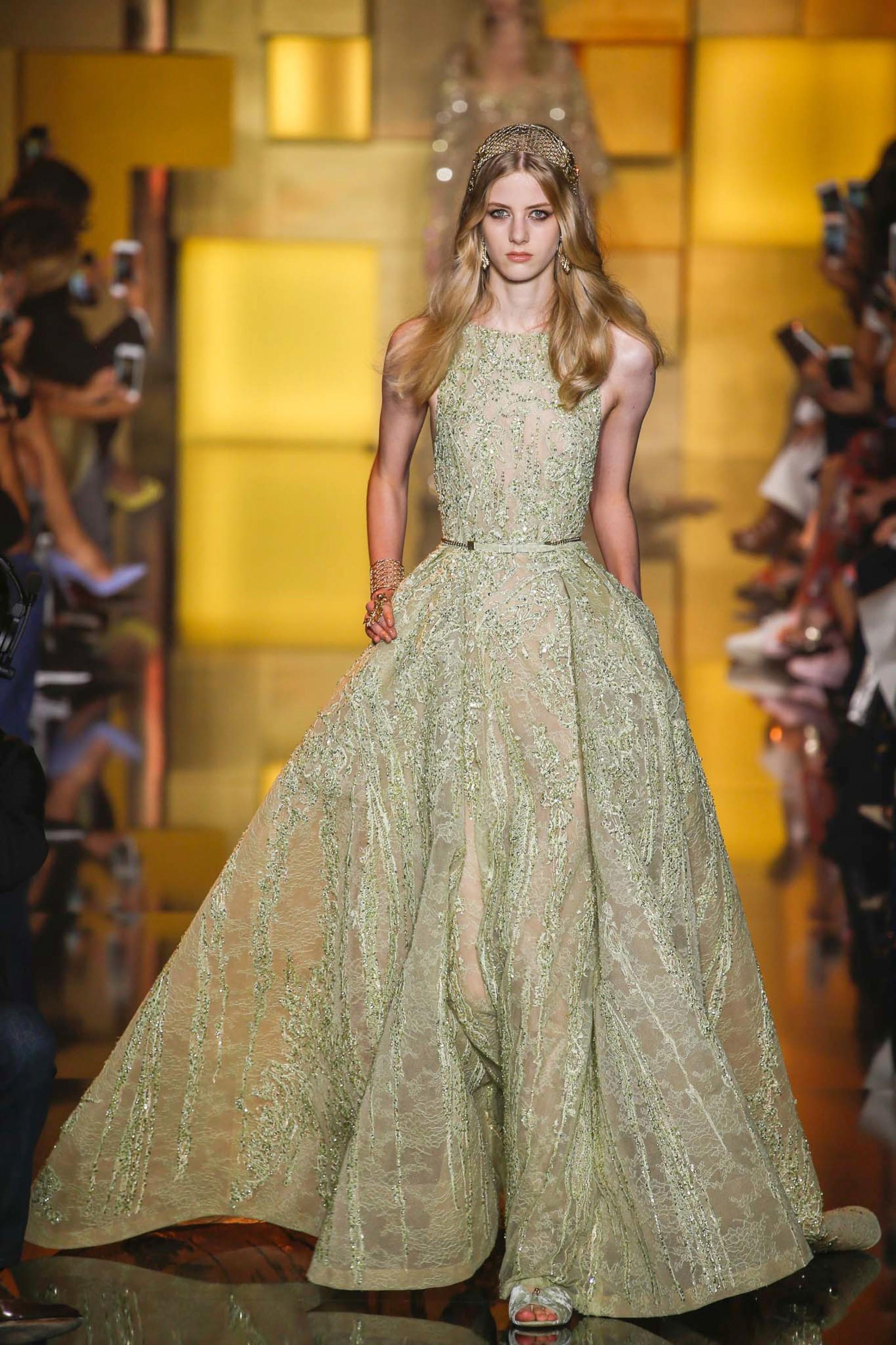 Модели платьев от кутюр