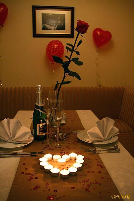 Как сделать простой романтический ужин