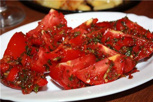 Как засолить помидоры черри