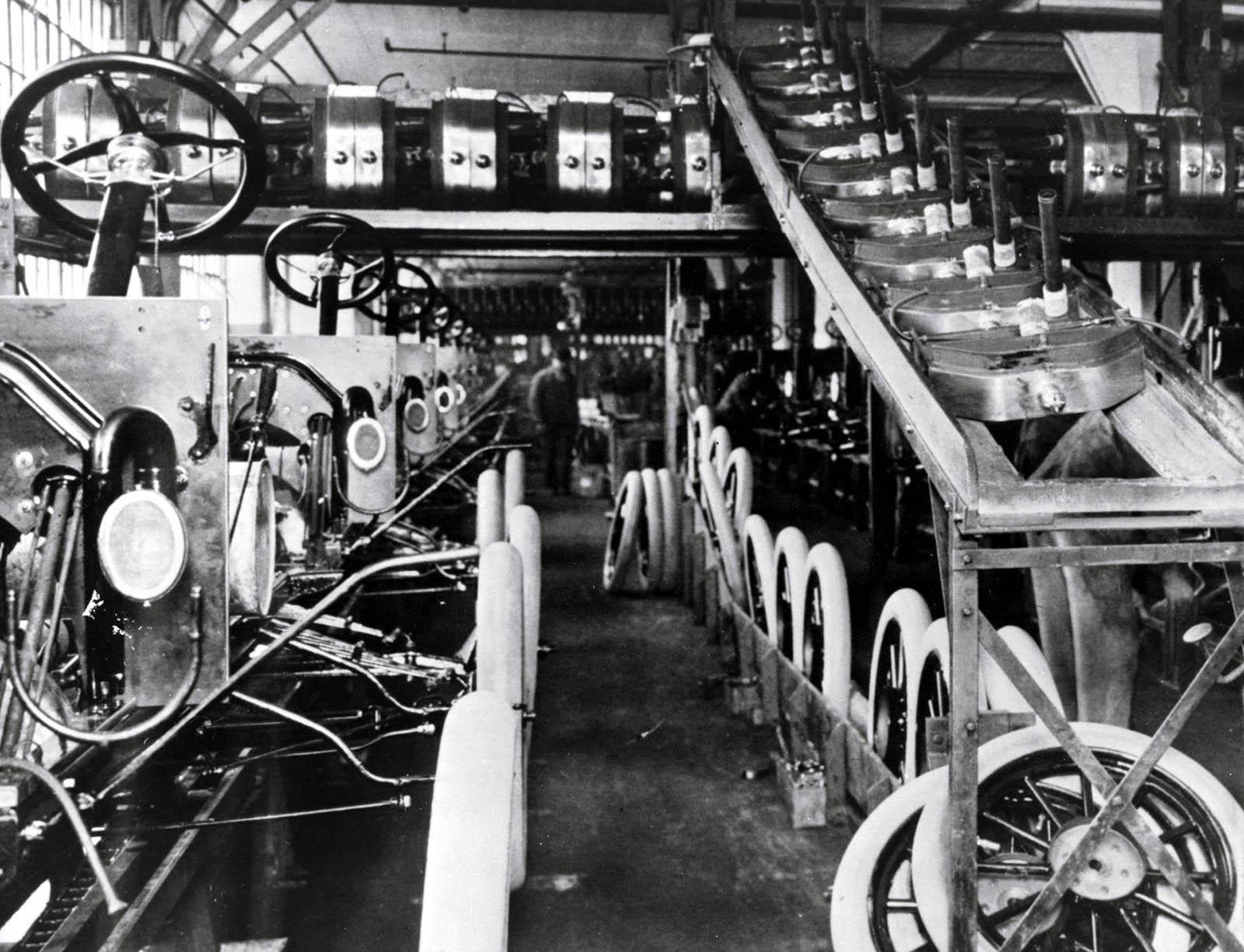 Изобретение генри фордом конвейера трубка сцепления транспортер т4