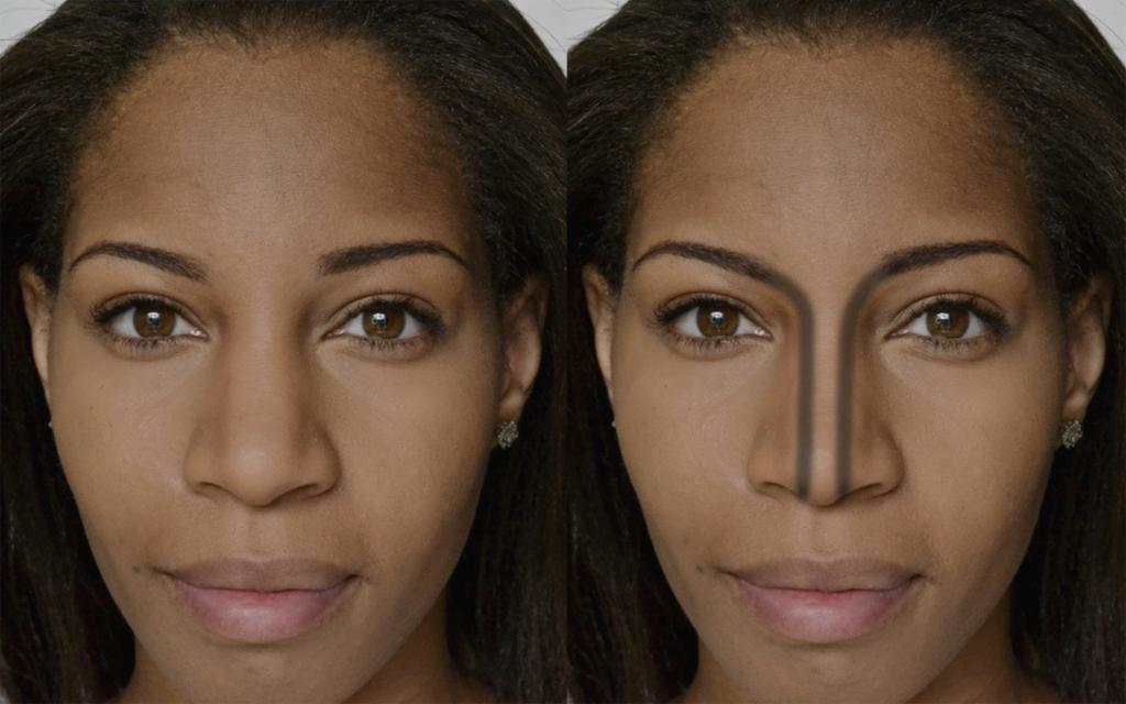 сможете правильно как сделать нос меньше на фотографии заказа