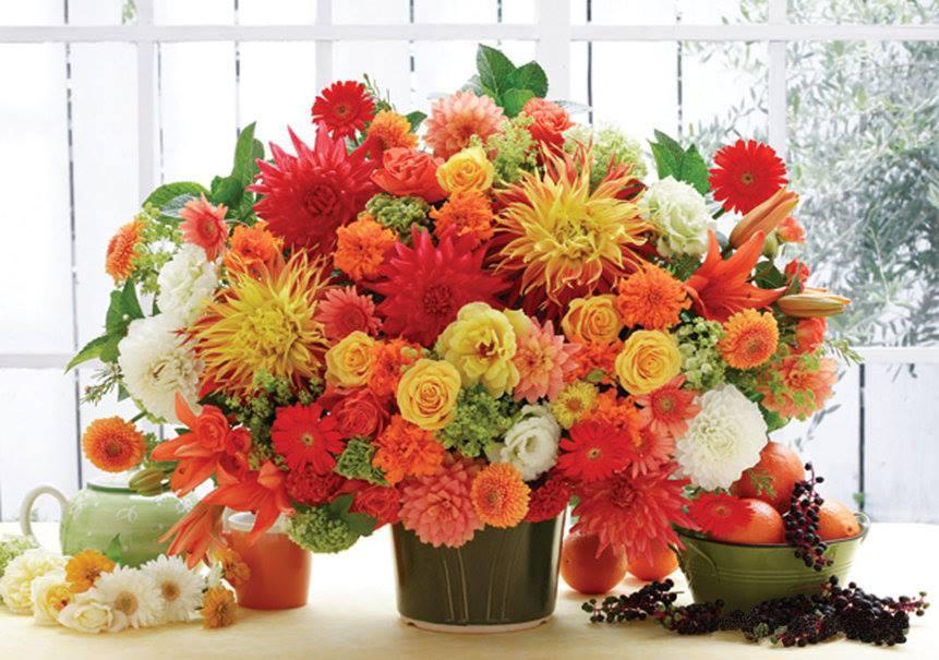 Надписью моя, открытка осенний букет цветов