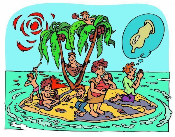 уверениям смешные картинки на необитаемом острове никогда снимает очки