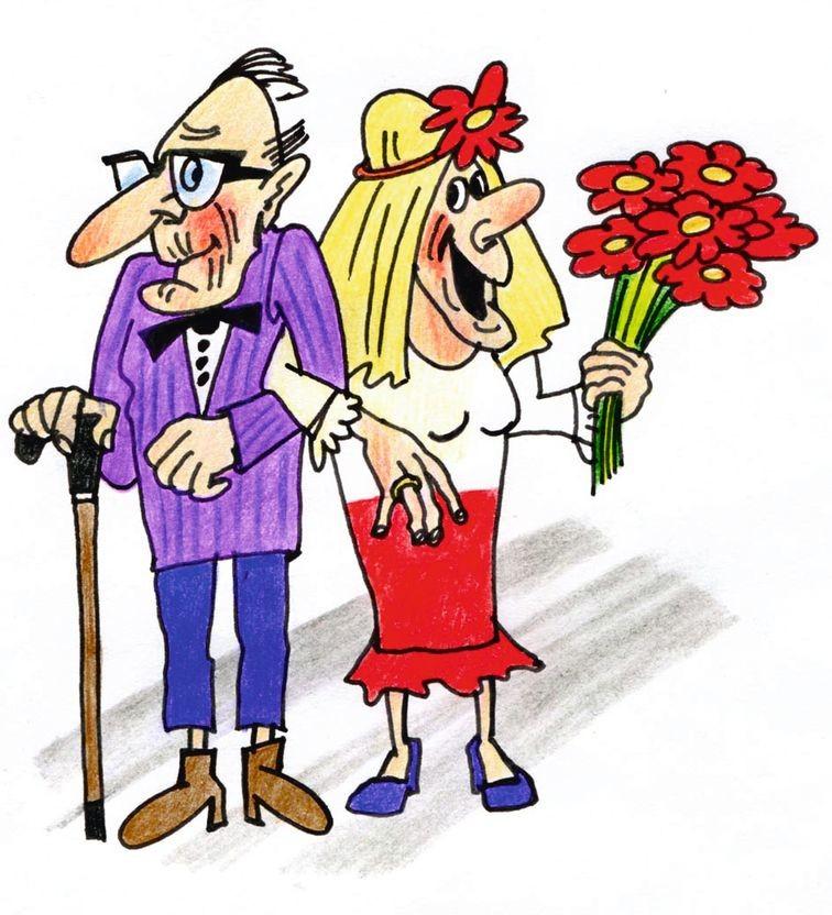 День, открытки с юмором к дню пожилого человека