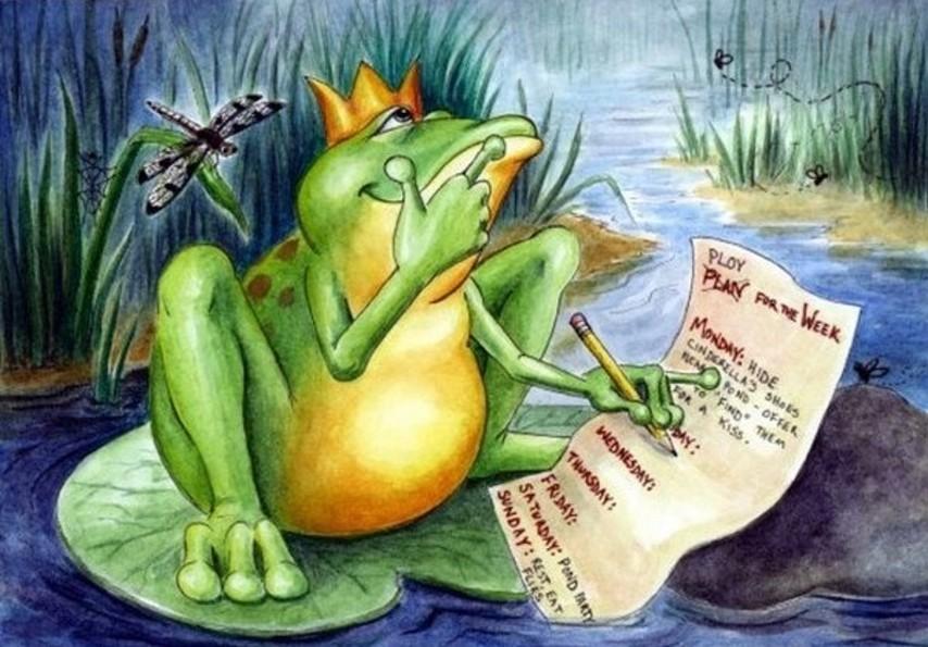 Лягушка-царевна смешные картинки