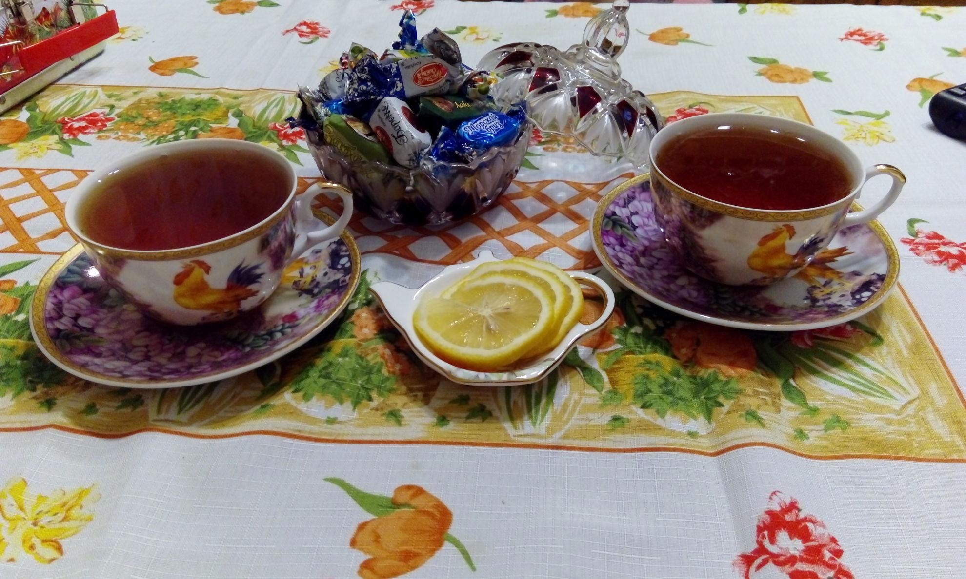 картинки добрый вечер чай с лимоном демократична