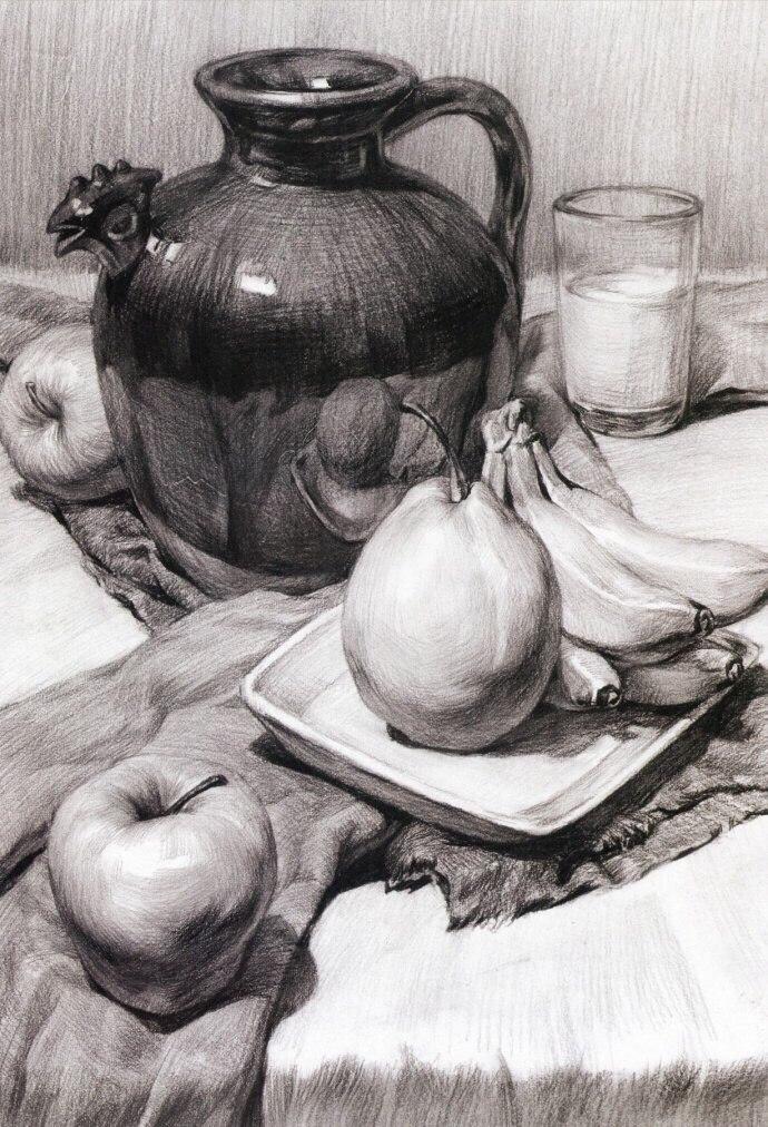 Рисунок учебные работы