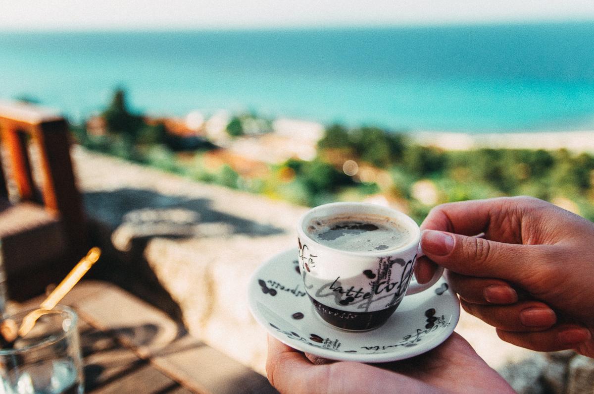 рынках омуля, красивые картинки утренний кофе у моря другой стороны