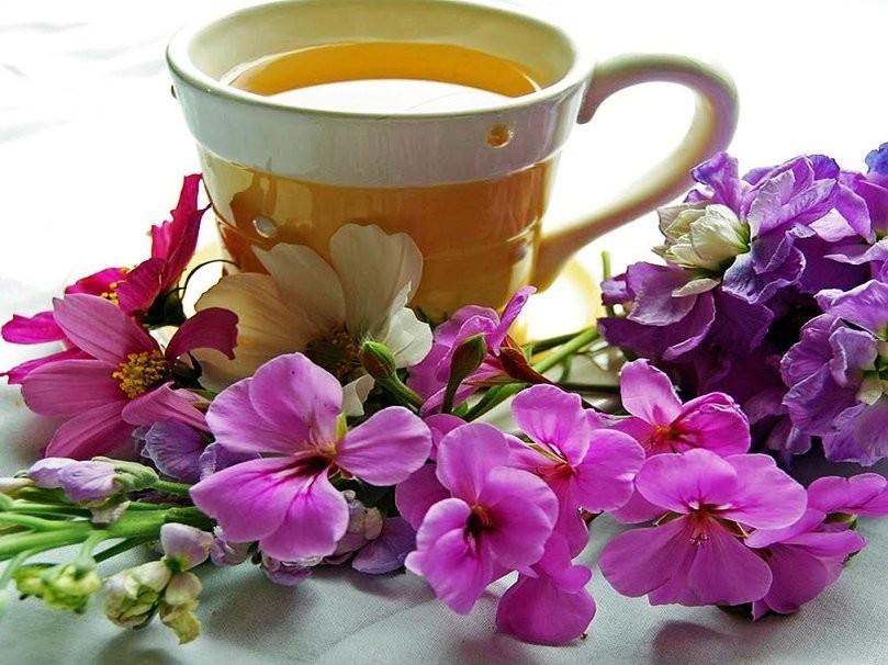 Открытки по чашечке чая