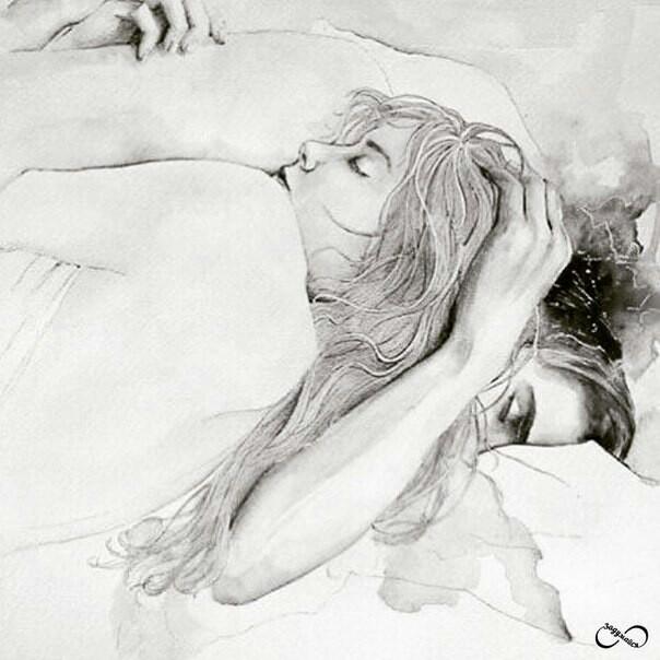 спящая пара картинки рисунки же, свою