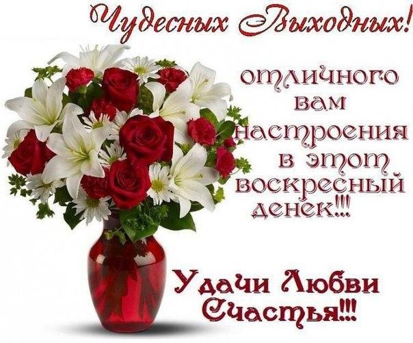 Картинки доброго воскресного дня и хорошего настроения :: Ekoner.ru