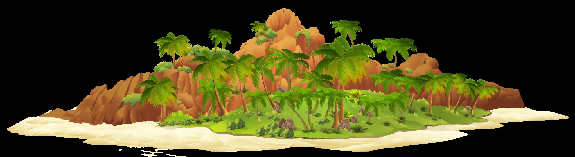 Острова картинки для детей на прозрачном фоне